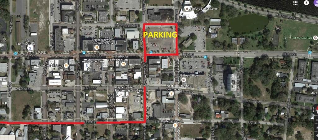 Dash Parking Map
